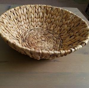 Large Decorative Woven Bowl
